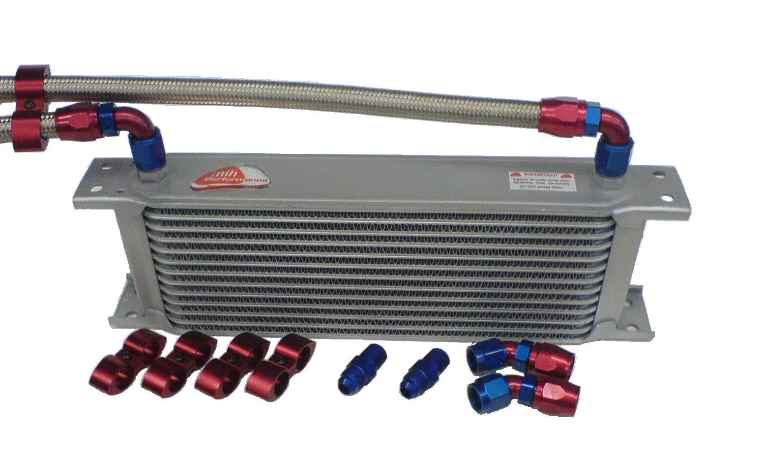 Transmission Fluid Cooler : Transmission oil cooler kit from speedflow