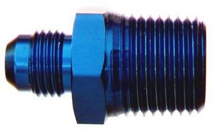 -6 AN to 3/8 NPT Straight Male - #816-06-06